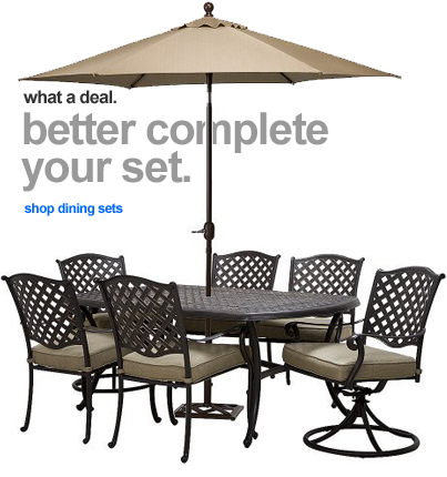 - Target - Up To 50% Off Patio Furniture Clearance Sale