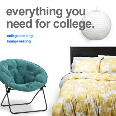 Everything you need for college.