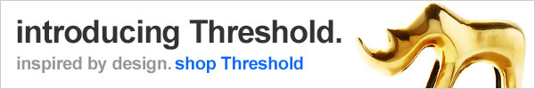 introducing Threshold inspired by design. shop Threshold