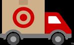Target free shipping icon