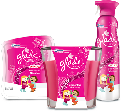 Glade Under the Mistletoe products