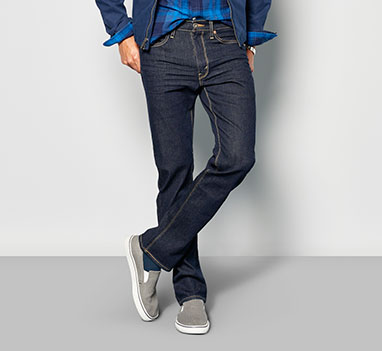 mens denim bootcut