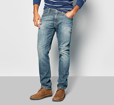 mens denim relaxed
