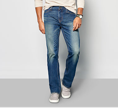 mens denim straight