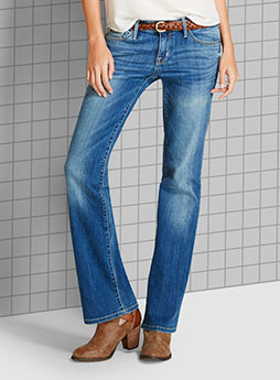 womens denim bootcut