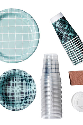 up & up paper plates, paper bowls, cold cups and hot cups