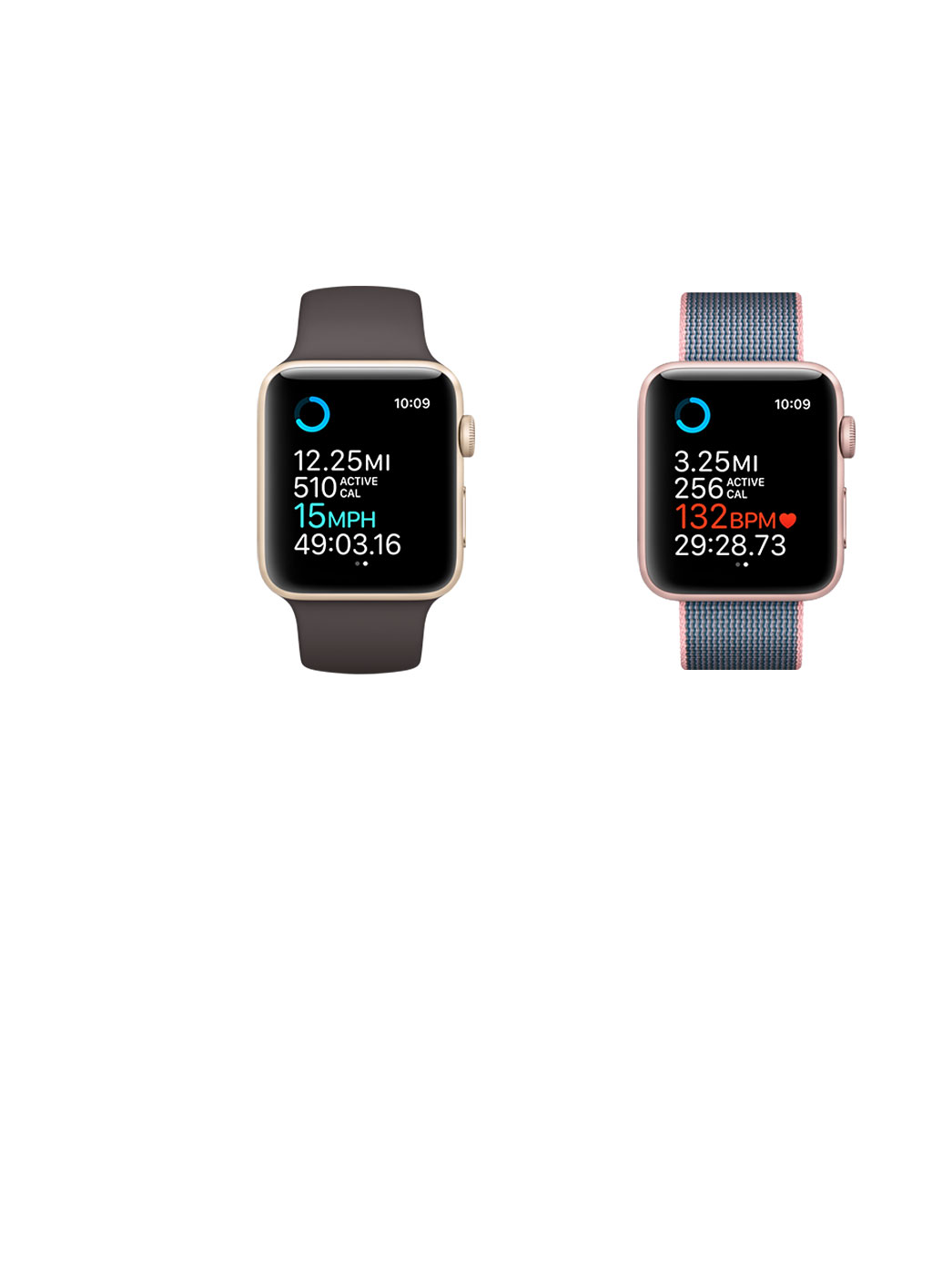 apple 2 watch. built-in gps record precise distance, speed and pace when walking, running, or cycling outdoors. apple 2 watch