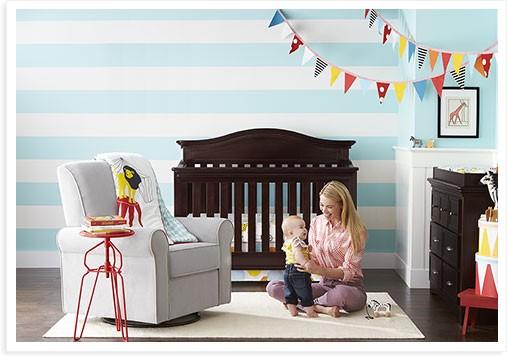 Standard full sized crib : nursery furniture : Target