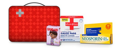 build your own first aid kit.
